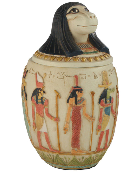 Canopic Jar of Hapi, Egyptian Statue