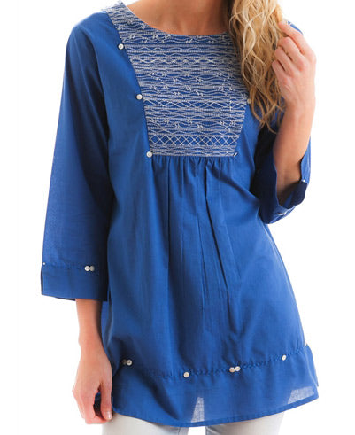 Persian Blue Blouse
