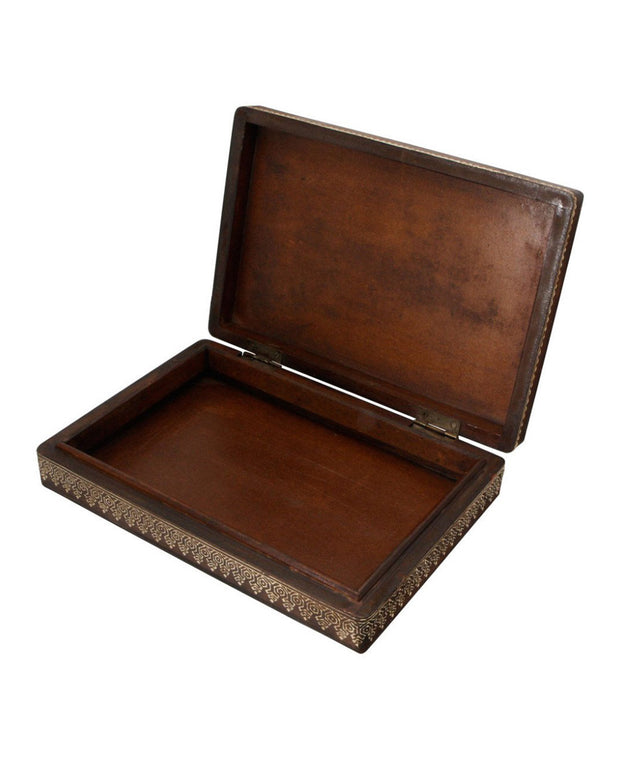 Hand-Crafted Embossed Jewelry Box