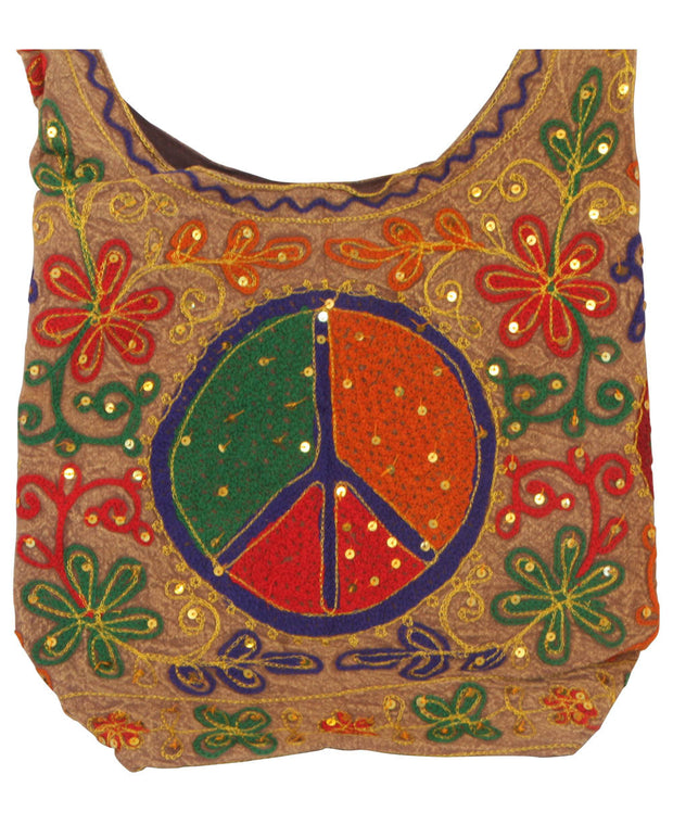 Indian Peace Sign Purse