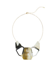 Bullhorn Bib Necklace