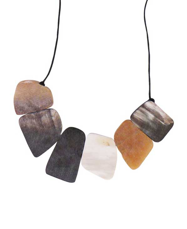 Raw Colors Statement Necklace, Vietnam