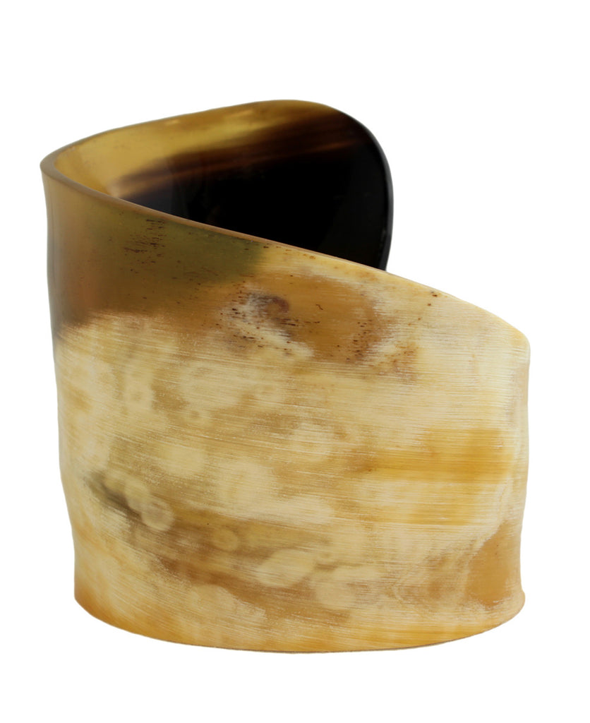Raw Beauty Vietnamese Bullhorn Cuff Bracelet, Fair Trade