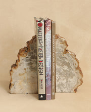 White Gemstone Bookends