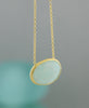 Amazonite Gemstone Pendant Necklace