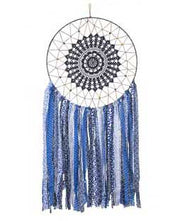 Large Size Vintage Inspired Dream Catcher, 18 Inches