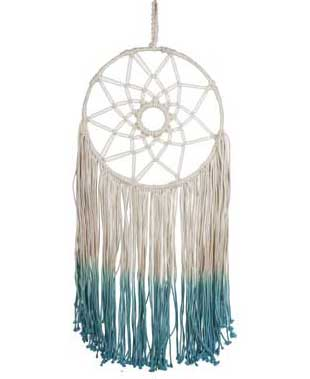 Tie-Dyed Dream Catchers, India
