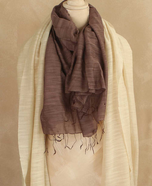 Sheer Silk Scarf