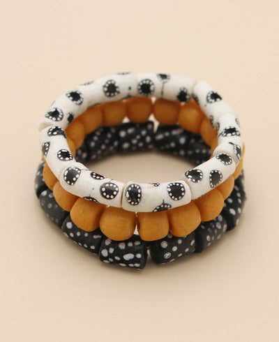 African Beads Bracelets