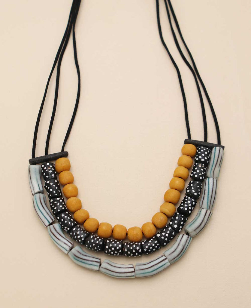 African Beads Necklace