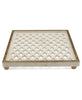 Moghul Marble Lattice Tray, India