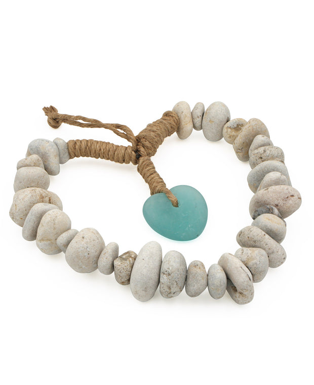 Stone Heart Wreath