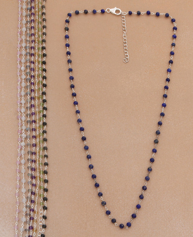 Gemstone Necklace Chain