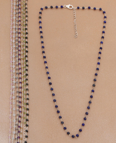 Gemstone Necklace Chain, India