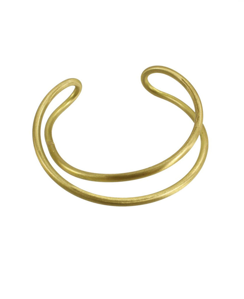 Fair Trade Twisted Arch Cuff Bracelet, India