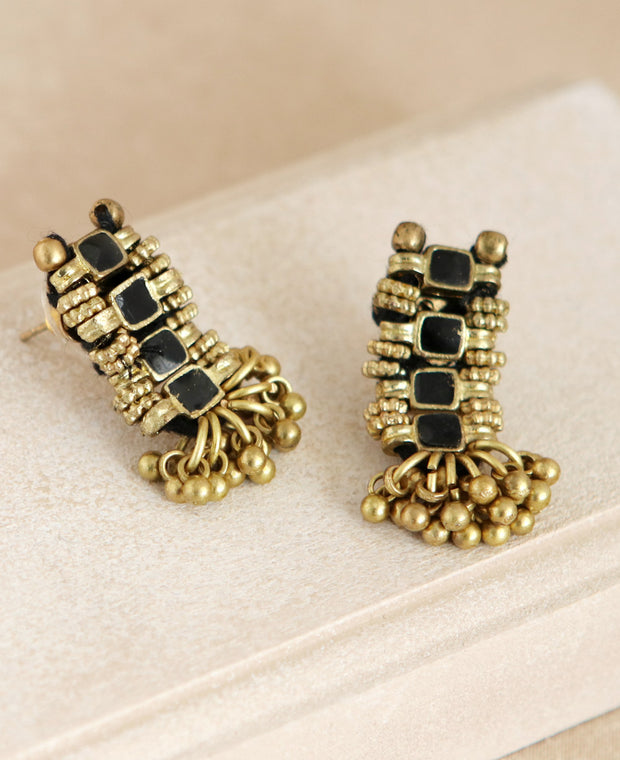 Golden Shimmy Earrings