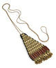 Golden Temple Triangle Necklace