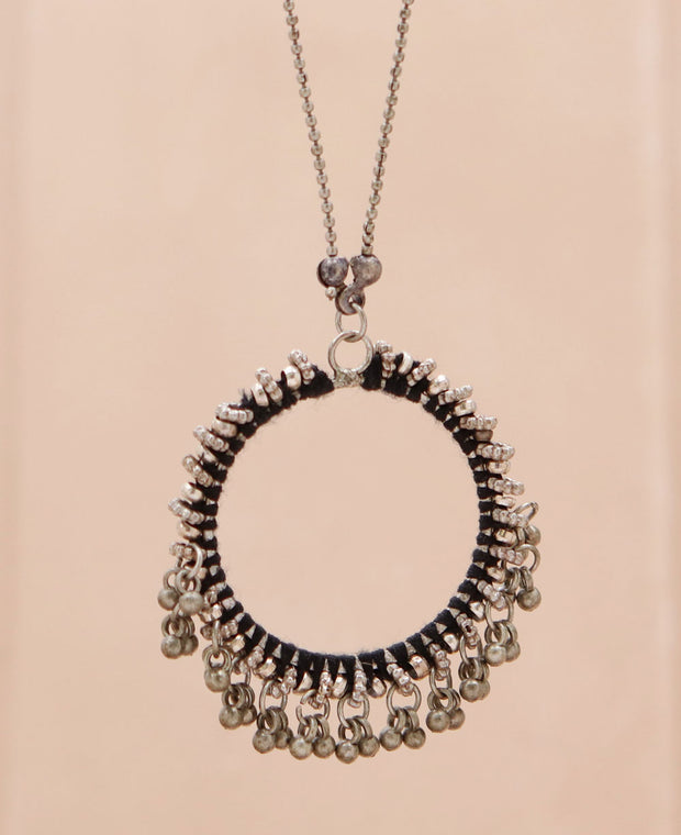 Bauble Circle Necklace
