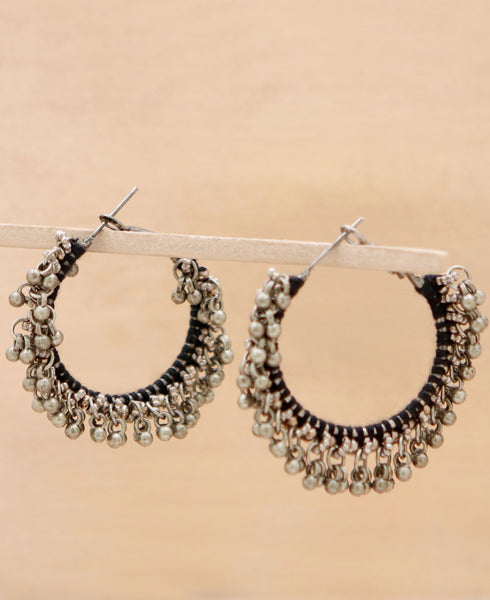 Bauble circle Earrings