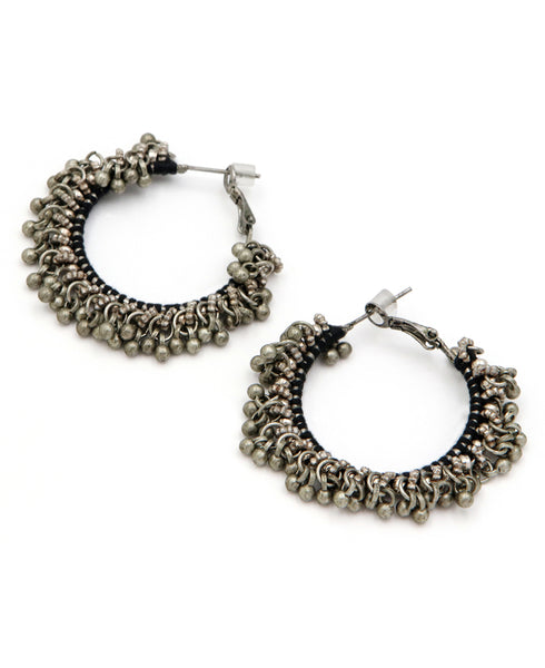 Indian Bauble Hoop Earrings