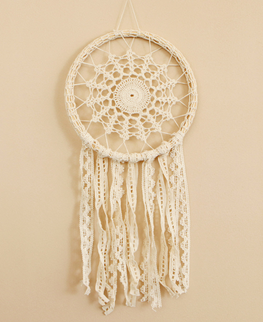 Country Crochet Dreamcatcher India Cultural Elements