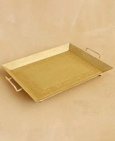 Embossed Serving Tray