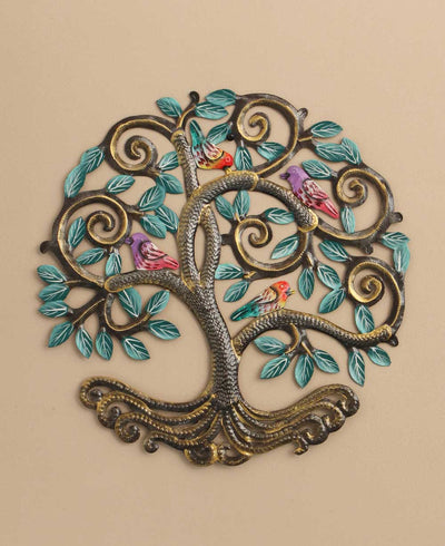 Haiti Tree of Life Metal Wall hanging