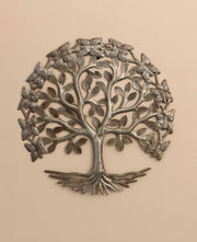 Haiti Tree o Life Metal Wall Hanging Fair Trade
