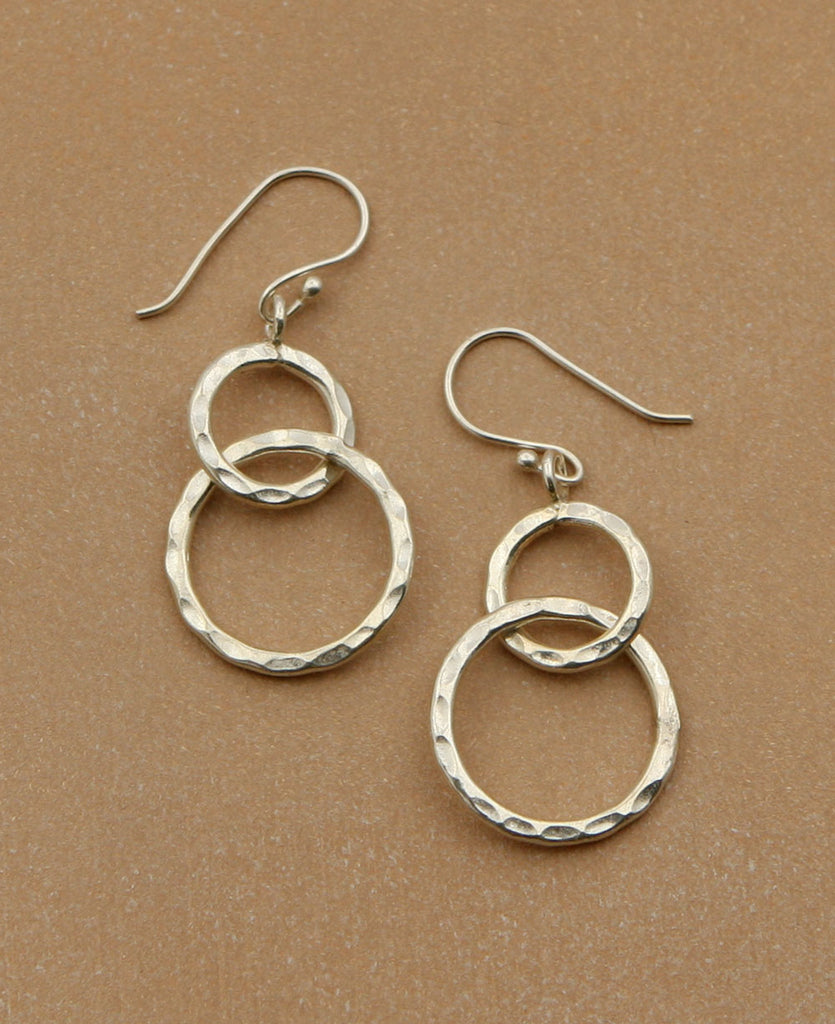 Hill Tribe Link Earrings