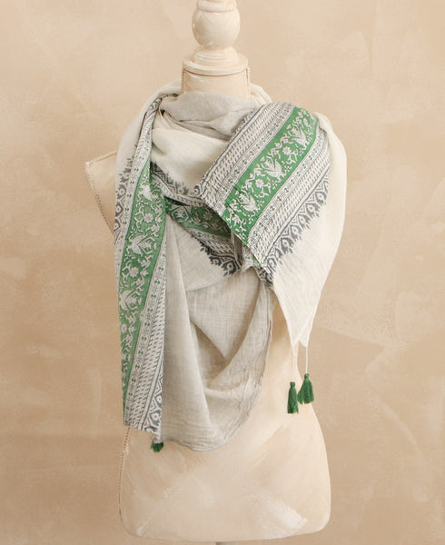 Indian Print Hara Scarf