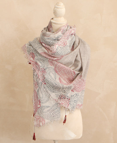 Indian Paisley Scarf