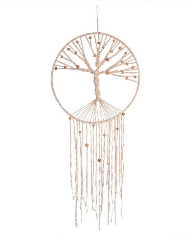 Tree of Life Macramé Dream Catcher, India