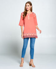 Peach Indian Kurti