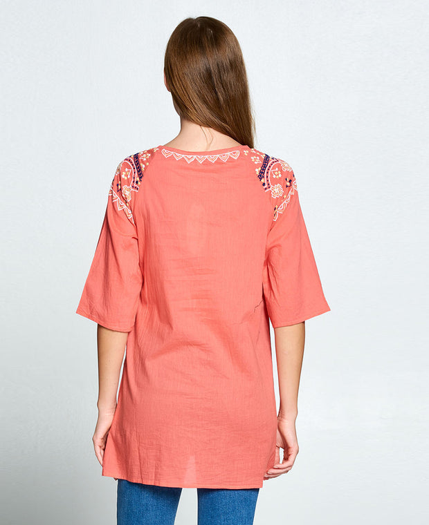 Tunic in pink