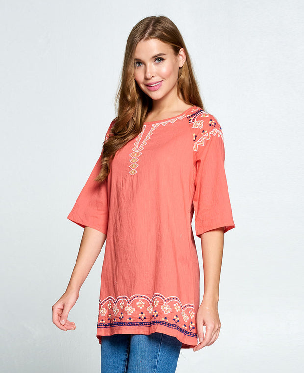 Pink Tunic Top India