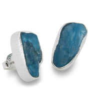 Apatite Stud Earrings