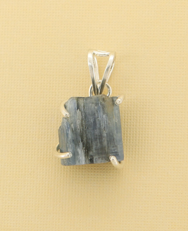 Raw Cut Kyanite Pendant