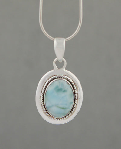 Sterling Silver Mystical Gemstone Pendant