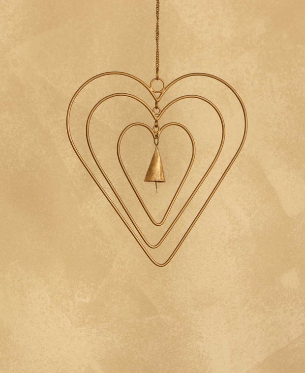 Bell Heart Chime