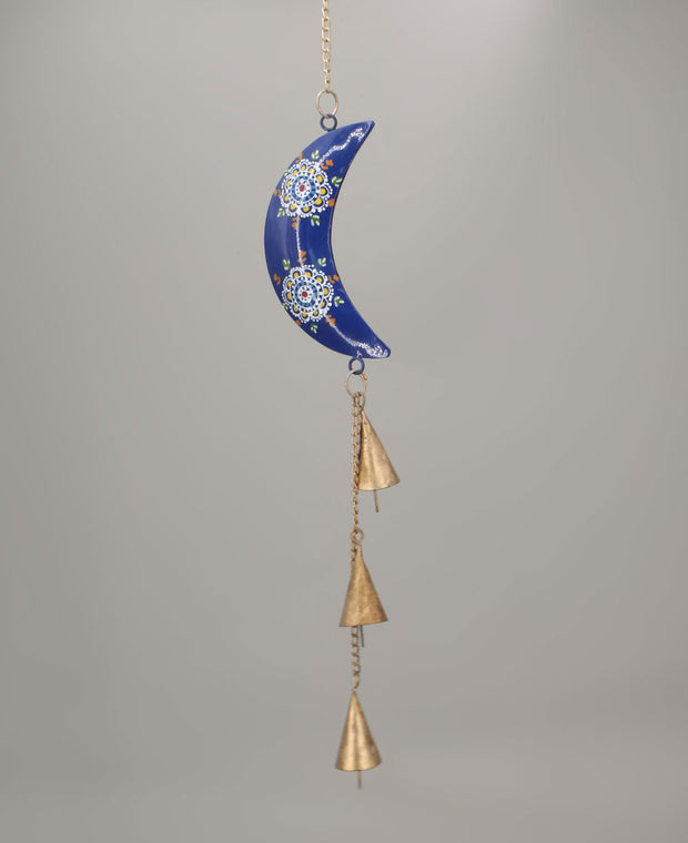 Hand-Painted Cosmic Moon Chime