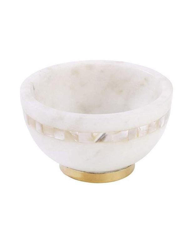 Marble and Mother of Pearl Moti Bowl