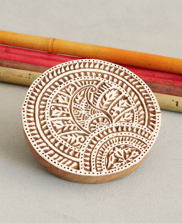 Indian Wood Stamps