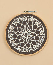 Embroidered Hoop Art