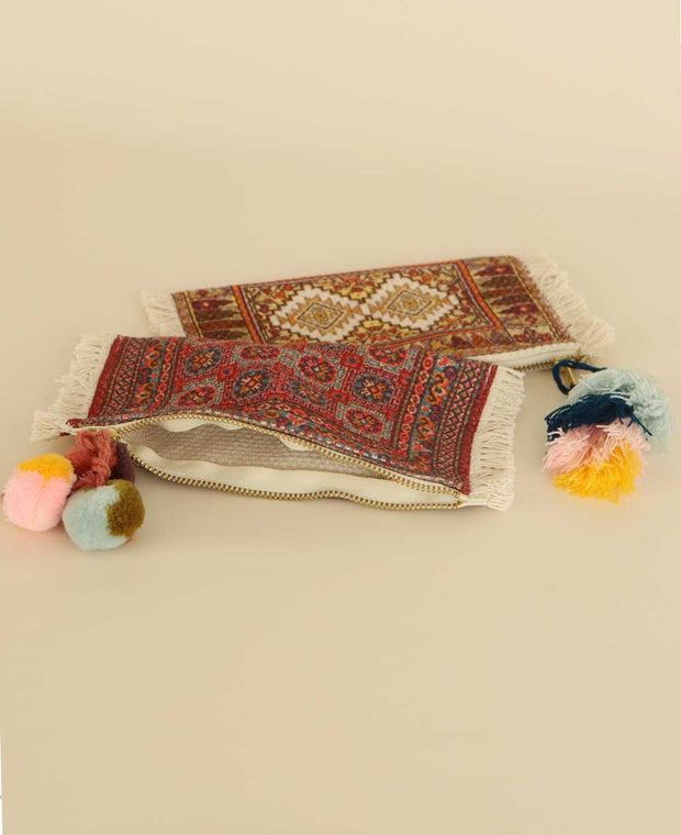 Tapestry Zippered Pouch