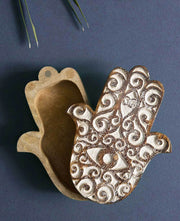 Hamsa Treasure Box