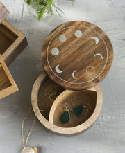 Moon Phase Jewelry Box