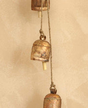 Rustic Bell and Rope Chime