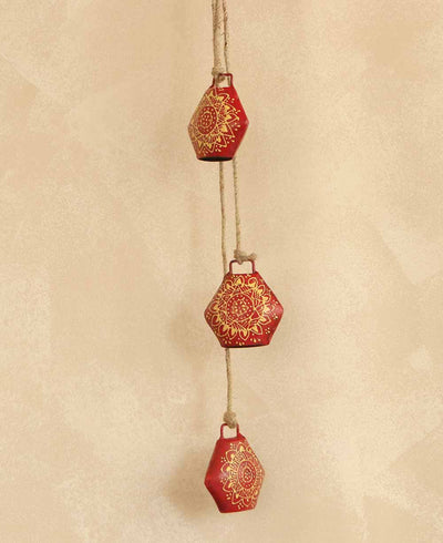 Red Henna Indian Bells, Fair Trade