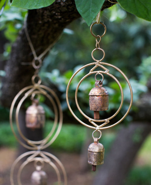 Brass Orbit Indian Wind Chimes