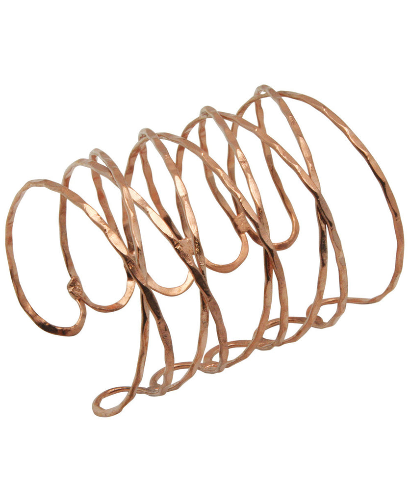 Indian Interlace Wire Cuff Bracelet, Fair Trade